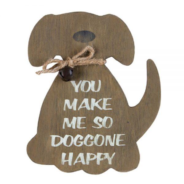 SO DOG GONE HAPPY WEATHERED